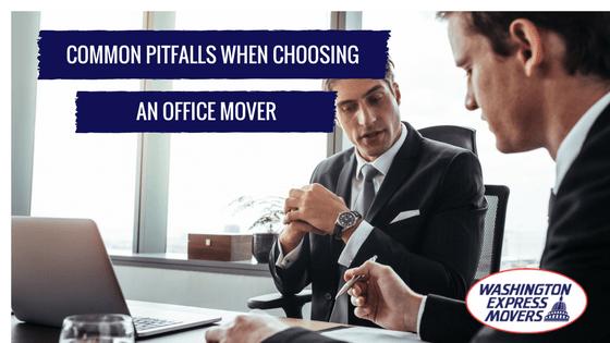 Common Pitfalls when choosing an Office Mover