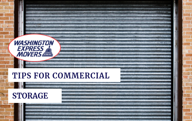 Tips for Commercial Storage